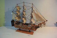 E1 Ancienne maquette bateau voilier La VICTOIRE TBE
