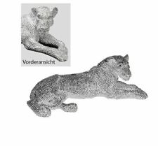 79977 Panther Brilliant from Poly Silver Shiny Lying with Length 68 CM