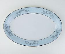"""12"""" Oval Serving Platter, NEAR MINT! Blueridge, Noritake, 5858"""