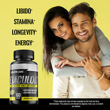 Goliath Ejaculoid Male Enhancement Capsules (60 Count) - 3 Month Supply