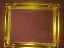 """Beautiful vintage gold scrolls romantic chic wood photo picture frame 18"""""""