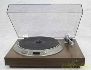 DENON Record Player DP-1600 Drive Manual Turntable Record Player from Japan