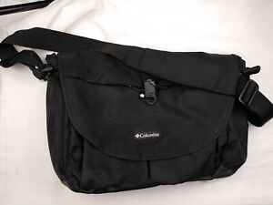 Columbia Outfitter Unisex Messenger Cross Body Diaper Bag Black