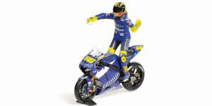 Valentino Rossi Yamaha YZR-M1 Bicicleta Y Figura Motogp Donington 2005