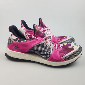 Women's ADIDAS 'Pure Boost X Floral' Sz 6.5 US Runners ExCon   3+ Extra 10% Off