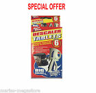 6 X Limescale Descaling Cleaning Tablets Coffee Machine Kettle Iron Descaler