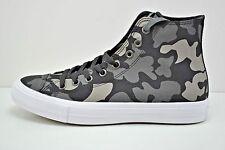 Mens Converse Chuck Taylor II Camo High Top Shoes Size 12 Black Grey 151157C