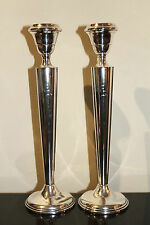 ART DECO ERA STERLING SILVER Candle Sticks, NICE,High Quality Heavy Gauge Silver