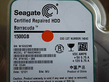 1,5 TB Seagate ST1500DM003 / 9YN16G-306 / CC4H / WU / 100645422 REV A hard disk