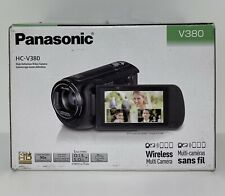 Panasonic HC-V380EB-K Camcorder - Black