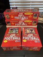 (2) 1990 Score NFL Football Series 1 Unopened Wax Boxes & (2) Series 1&2 Sets 🔥