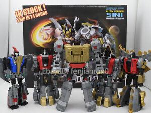 Generations Power of The Primes Volcanicus Dinobot 5in1 Grimlock Action Figure