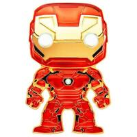 IN STOCK! Marvel IRON MAN Large Enamel Pop! Pin by Funko