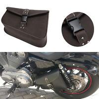 Motorcycle Left Side Saddlebag Saddle Bag Fits Harley Sportster XL883 1200 Dyna