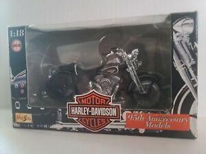 Maisto 1:18 Harley-Davidson FLSTS Heritage Springer, Series 3, 95th Ann., In Box