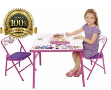 Fancy Nancy Erasable Activity Table Set & 2 Chairs, Pink