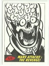 2017 Topps Mars Attacks The Revenge ! Martian Sketch Card by Patrick Giles (A)
