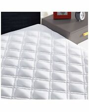 Mattress Pad Cover Cotton Pillow Top Protector Deep Pocket with 8-21 Inch QUEEN