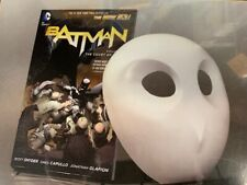 DC Batman Court of Owls Book and Mask Set - NEW MSRP $30