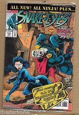 GI G.I. JOE A REAL AMERICAN HERO #138 SEALED BAGGED W/ CARD MARVEL