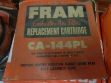 NOS FRAM CA-144PL Air FILTER Dodge/Plymouth V8 4bbl 1957