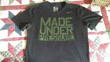 nike made under pressure size m dry fit sport tee