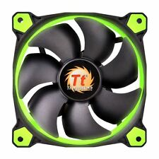 Thermaltake Riing 14 Led 140mm PC Case Cooling Fan High Pressure 14CM - Green