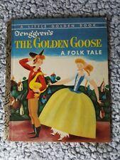 Tenggren's The Golden Goose ~ 1954 1st ed (A) ed Little Golden Book *Xlnt !