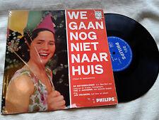 """We Gaan Nog Niet Naar Huis 10"""" LP V/A De Bietenbouwers The 3 Jacksons Dutch NM-"""
