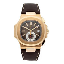 Patek Philippe 5980 Nautilus Chronograph 18k Rose Gold Box/Papers 5980R