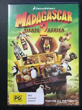 MADAGASCAR 2 ESCAPE TO AFRICA DVD - LIKE NEW- Get it Fast