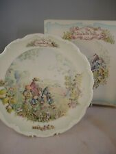 More details for royal albert wind in the willows plate autumn in the wild wood boxed british