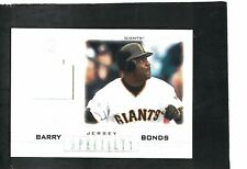 BARRY BONDS GIANTS SLUGGER 2001 UD PROS & PROSPECTS ''SPECIALTY'' JERSEY RELIC