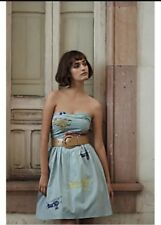 Rare! Anthropologie Wright Dress Airplanes XS S 4 *EUC* by Moulinette Souers