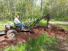 Towable Backhoe Plans, Metalwork, Tractor, Tow A Hoe