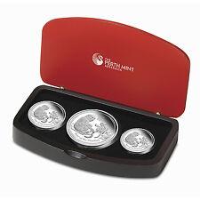2016 Australia 3-Coin Silver Lunar Monkey Proof Set - SKU #92797