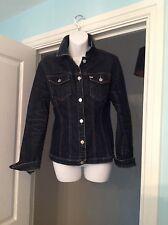 Ladies Miss Sixty denim jacket size medium
