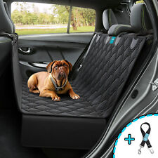 Dog Seat Cover Hammock for BackSeat Durable Waterproof Car Truck Suv + Seatbelt