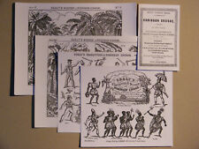 Toy Theatre Play,Skelt,s Robinson Crusoe.