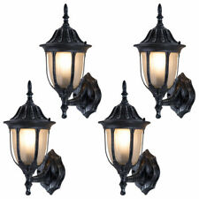 Outdoor Garages Front Porch Light Exterior Wall Light Fixtures Waterproof 4-pack