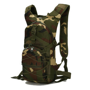 Motorcycle 15L Outdoor Riding Backpack Sports Bags 3P Tactical Camouflage Oxf*wf