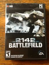 Battlefield 2142 - PC Windows Video Game - VERY GOOD  - Complete with Manual