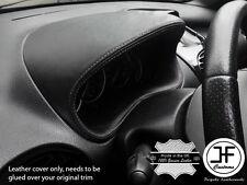Grigio Stitch calibro speedo Cappuccio in Pelle Cover si adatta a Peugeot 206 206 CC 1998-2012