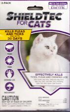 New listing ShieldTec for Cats Flea,Tick & Lice Waterproof Treatment 3 Treatment Tubes