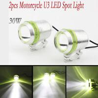 2pcs CREE U3 Motorcycle LED Spotlights For Honda Shadow VT 600  750 1100 VT1300