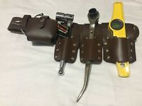 SCAFFOLDING LEATHER BELT WITH  TOOLS SET QUALTY ITEM(UK SELLER MASIVE BARGAIN)