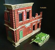 Bolt Action 28mm Ruined German Building   - Painted By FoWaBS