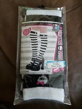 Monster High Accessories freaky socks Halloween cosplay stripped
