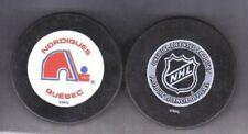 QUEBEC NORDIQUES 1979-1985 NHL PUCK SilverBack - LAST1