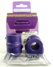 Powerflex Bush Poly per Vauxhall per Opel Corsa C Anteriore ANTI ROLL BAR BUSH 17mm